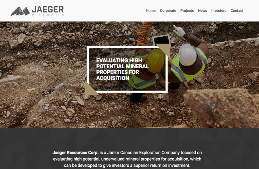 Jaeger Resources Corp